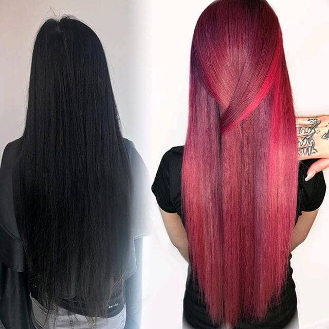 best burgundy hair dye to Rock this Fall 2019 11