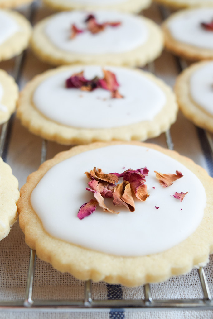 Easy Rosewater Biscuits