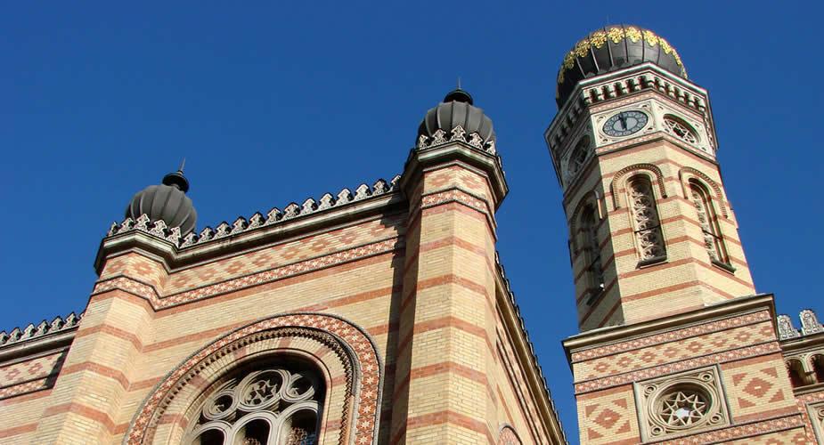 De leukste wijken van Boedapest, de Grote Synagoge van Boedapest | Mooistestedentrips.nl