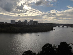 Rosslyn skyline