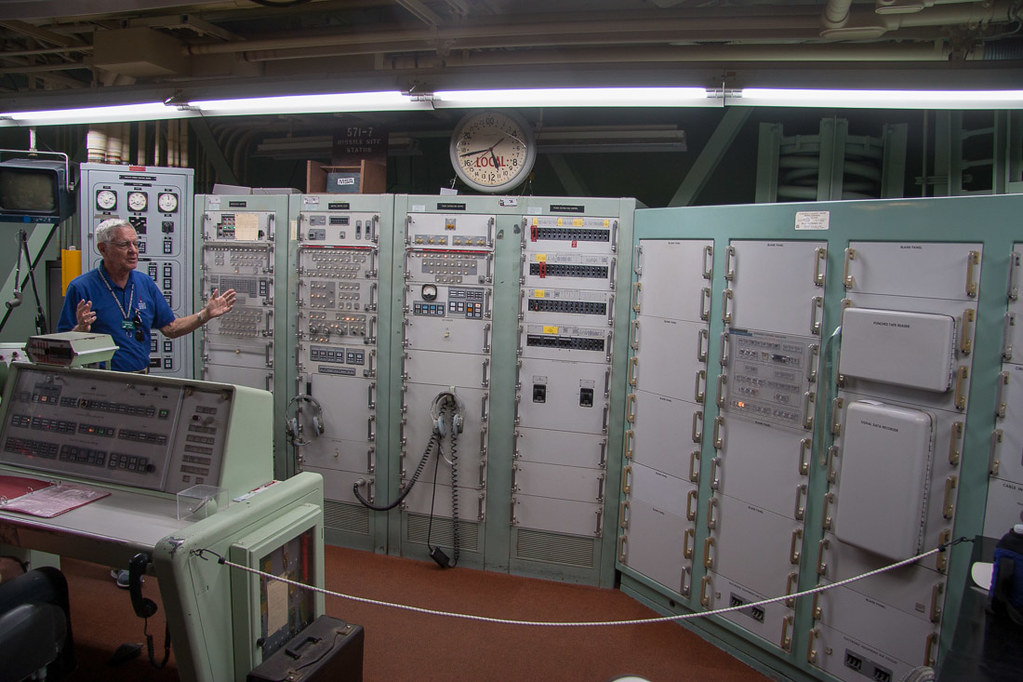 Control room at Titan Missile Museum