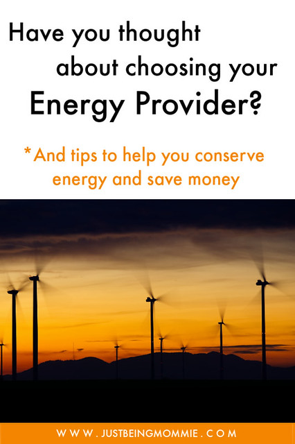 Choosing your energy provider
