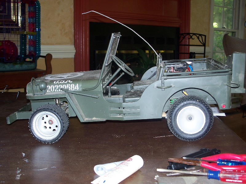 Building an RC sixth scale Jeep 31651742858_31a575b75b_b