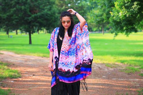 Kimono Elizabeth Gillet Tanvii.com