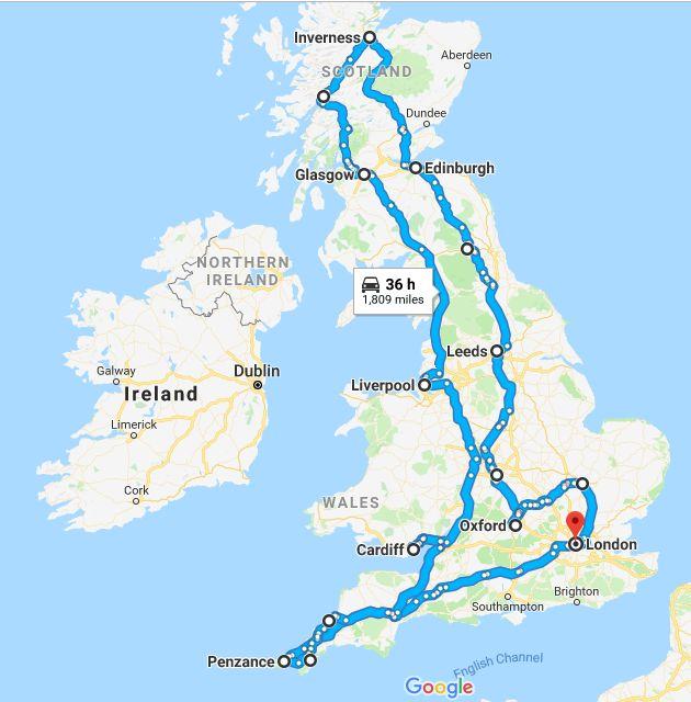 UK trip 2018 - real