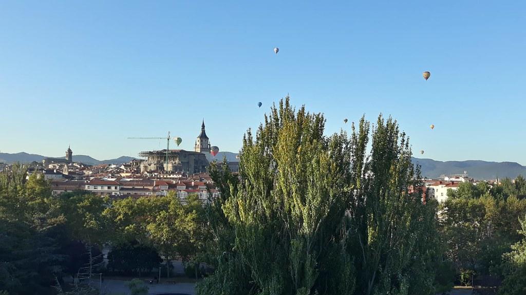 I Regata de Globos Vitoria-Gasteiz