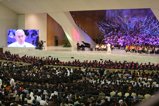 Synod 2018 - Spotkanie z Papieżem