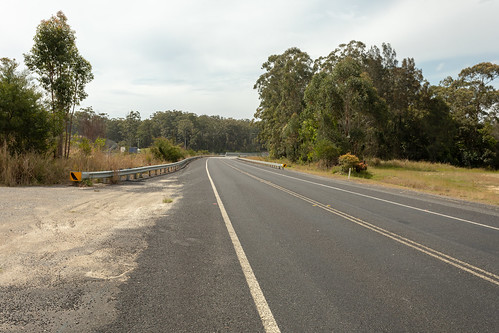 Ginigay Way former alignment