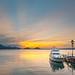 Sunrise at Lake Shikotsu, Hokkaido, Japan