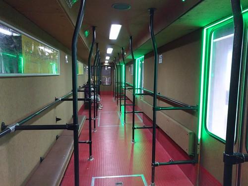 Inside the Dorfbahn Serfaus