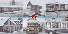 Trompe Loeil Snow Add-Ons for the 2018 Prefab Collection