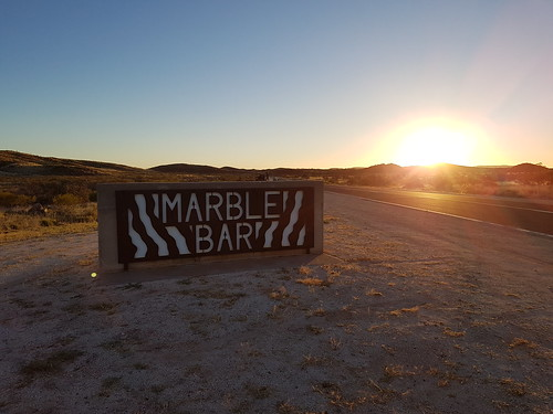 Marble Bar Welcome Signs