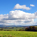 Pennines and Eden Valley from Penrith.