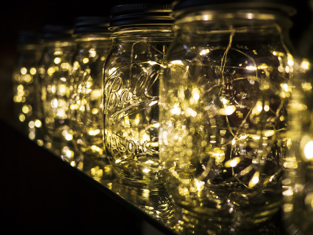 Mason Jar Fairy Lights