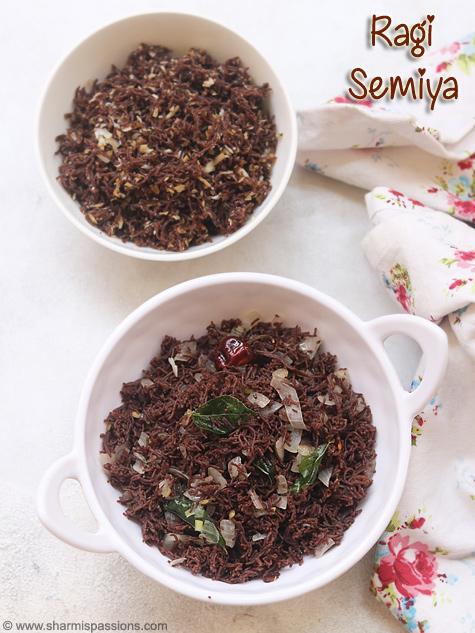 ragi semiya recipe