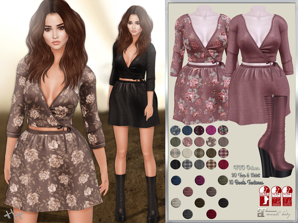 Hilly Haalan - Arwen Outfit Autumn Pack - TeleportHub.com Live!