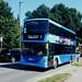 Metrobus No. 6968, registration No. YP58 UGJ.