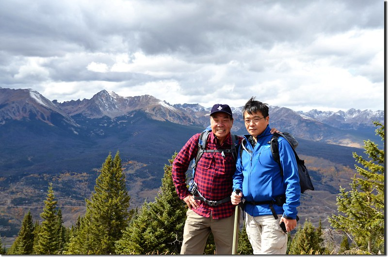 Taken from Ptarmigan Peak Trail near 11,600 ft (88)