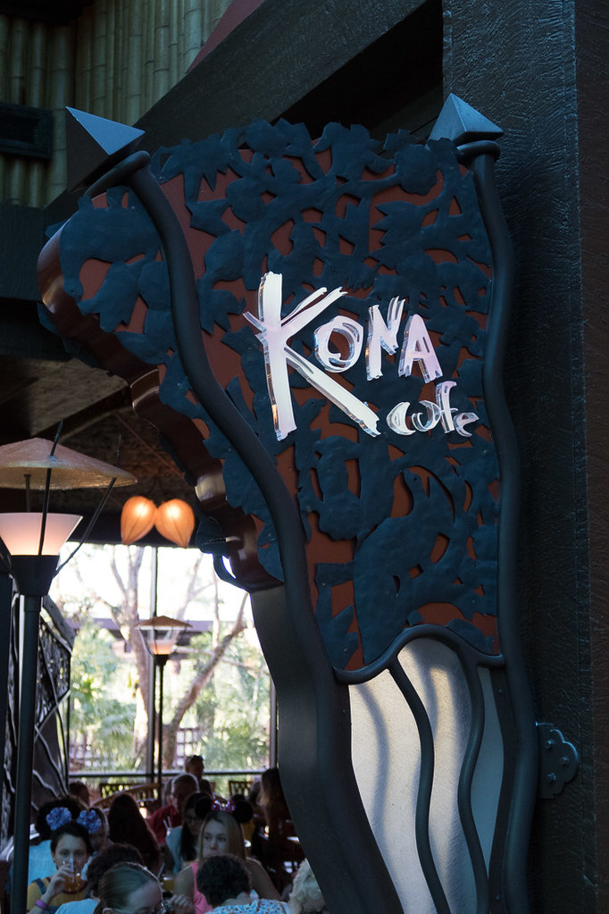 Sign for Kona Cafe