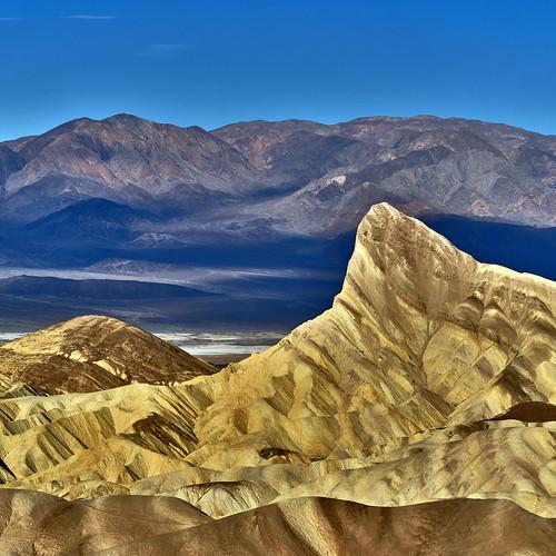 Zabriskie Point at Sunrise - Death Valley National Park