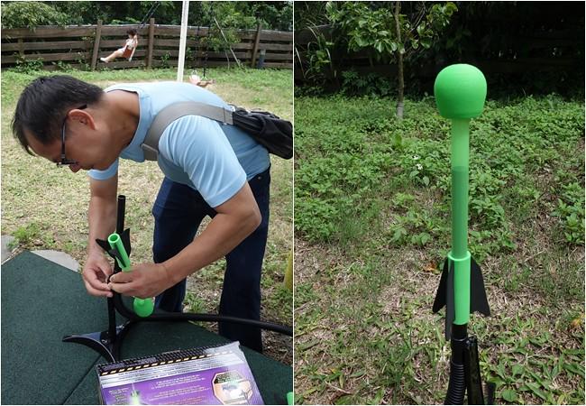 美國POOF 夜行者空氣火箭 戶外遊戲 兒童遊戲 野餐 露營玩 (2)