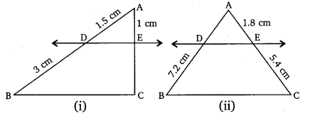 NCERT Solutions for Class 10 Maths Chapter 6 pdf Triangles Ex 6.2 Q1