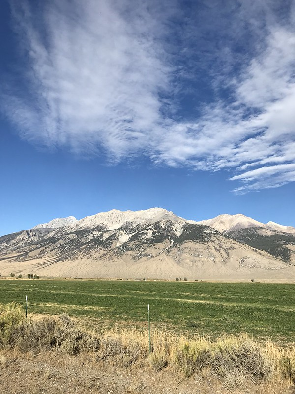 Crisp Sky, big mountain
