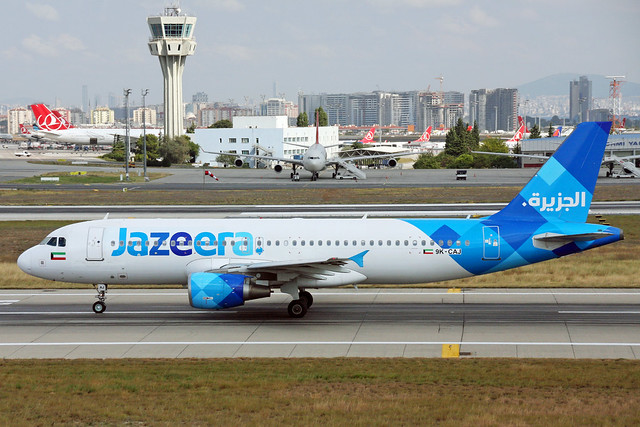 Jazeera Airways A320