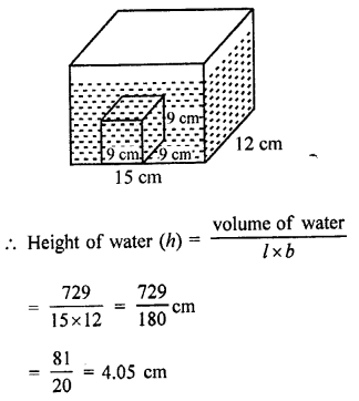 RD Sharma Class 9 Maths Book Questions Chapter 18 Surface Areas and Volume of a Cuboid and Cube