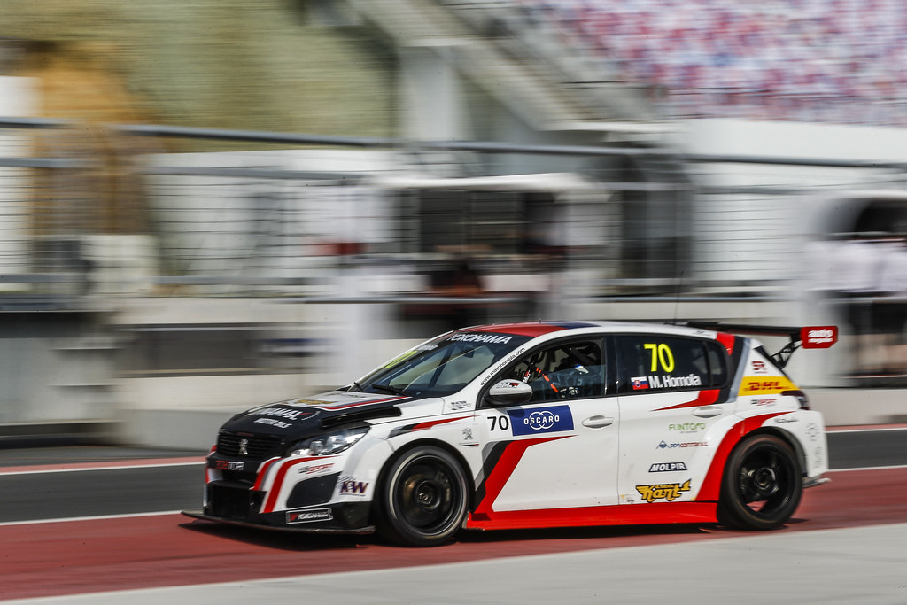 70 HOMOLA Mato, (svk), Peugeot 308 TCR team DG Sport Competition, action during the 2018 FIA WTCR World Touring Car cup of China, at Ningbo  from September 28 to 30 - Photo Jean Michel Le Meur / DPPI