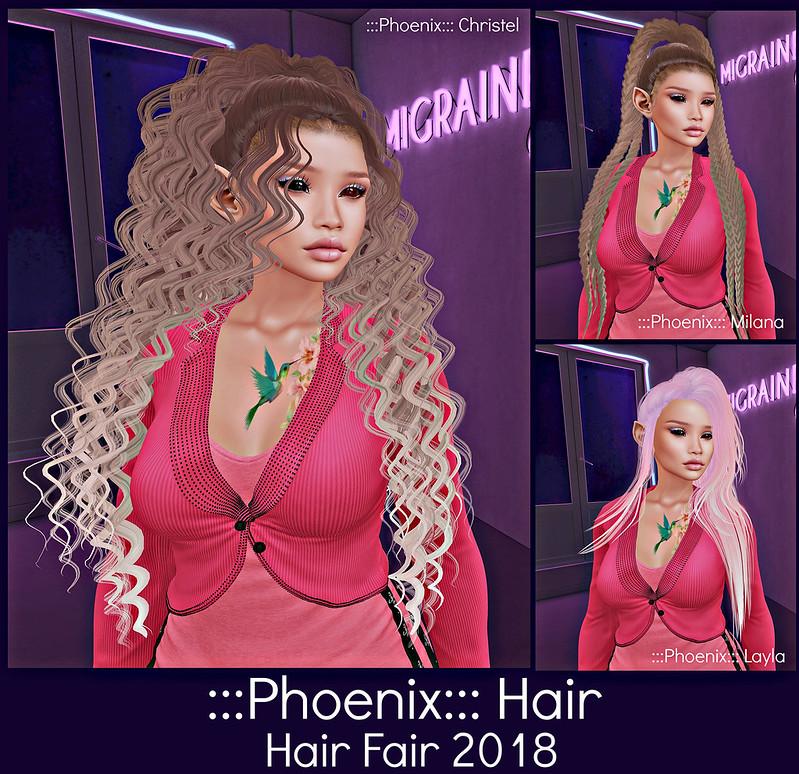 Phoenix Hair - Hair Fair 2018