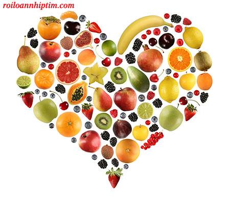 Hoa quả tốt cho tim mạch và bệnh rối loạn nhịp tim
