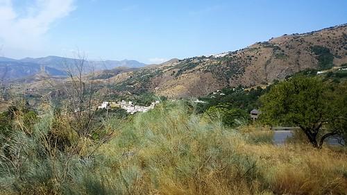 Soportújar Town in Alpujarra, Sierra Nevada Mountains
