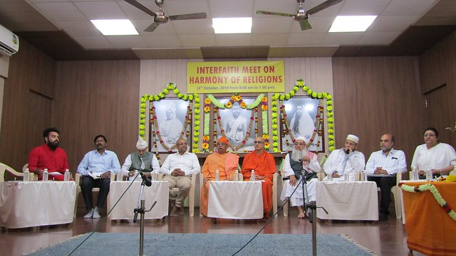 Interfaith Harmony 2nd October 2018