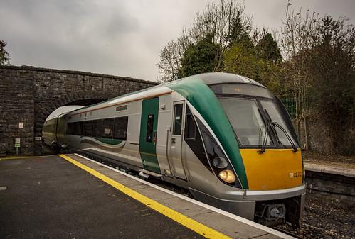 Larnród Éireann, Irish Rail 0322312, Ballymote Ireland 10 October 2018