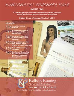 K-F Ephemera 4 sale cover