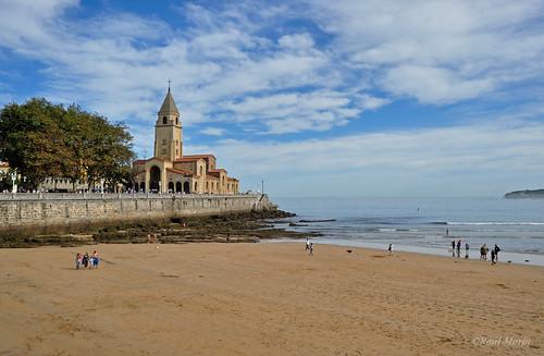 Playa de San Lorenzo. Gijón.