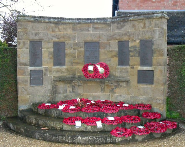 Stratford-upon-Avon War Memorial Wall