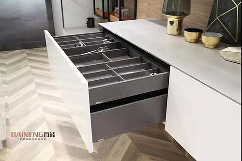 Baineng Stainless Steel Kitchen Cabinet details