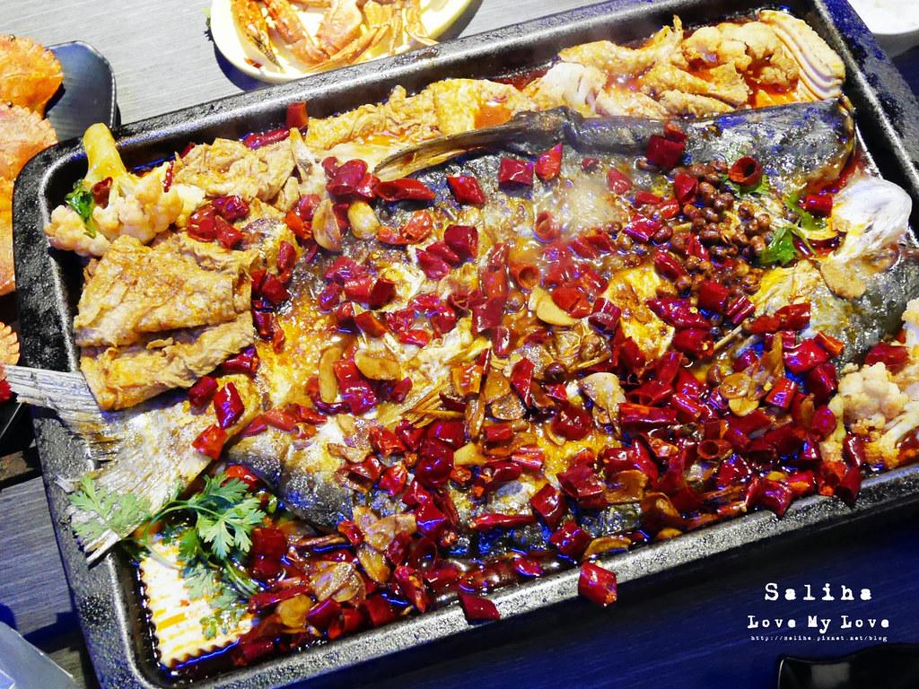新北中和必吃海鮮餐廳美食火鍋大推水貨炭火烤魚中和店 (15)