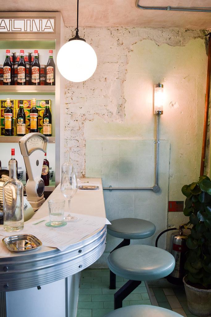 Bar at Lina Stores, Soho