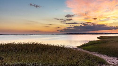 fortfisher sea sunset northcarolina