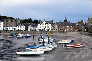 Low Tide at Stonehaven Harbour.
