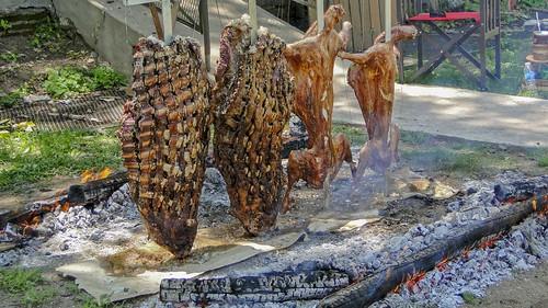 Costela e Cordeiro no fogo de chão (série com 3 fotos)