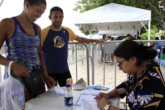23.10.18.Entrega de kits da 9ª Corrida Internacional Cidade de Manaus