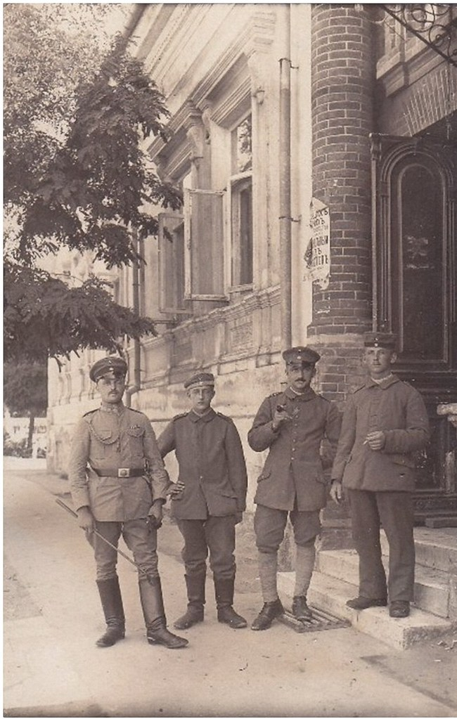 Немецкие солдаты 1918