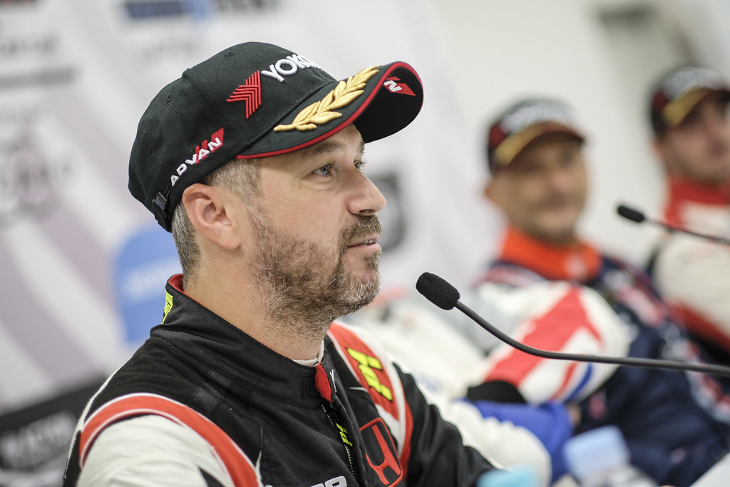 MONTEIRO Tiago, (prt), Honda Civic TCR team Boutsen Ginion racing, portrait during the 2018 FIA WTCR World Touring Car cup of Japan, at Suzuka from october 26 to 28 - Photo Francois Flamand / DPPI