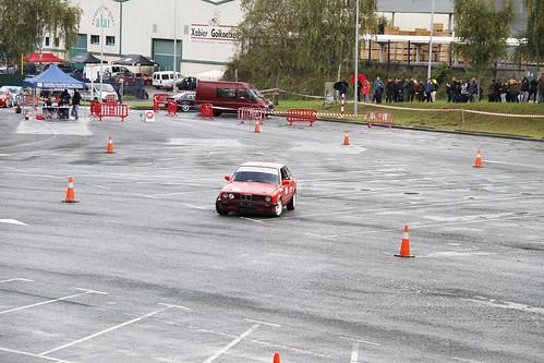 III. Auto slalom Urnietan