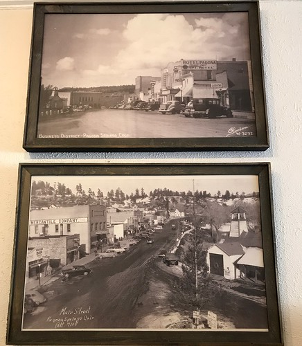 Photos at The Rose. From History Comes Alive in Pagosa Springs, Colorado