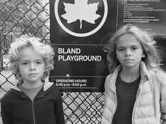 Kids At The Bland Playground